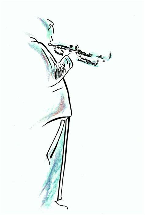 trumpet tattoo designs jazz musician artist with trumpet by patrickaldridge
