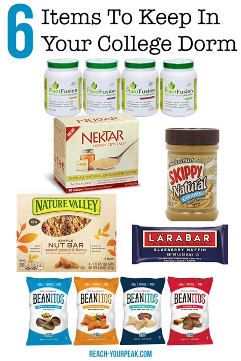 healthy room snacks 6 healthy foods to keep in your room reach your peak