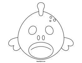 printable shark mask template 65 best masks images on pinterest birthdays animal