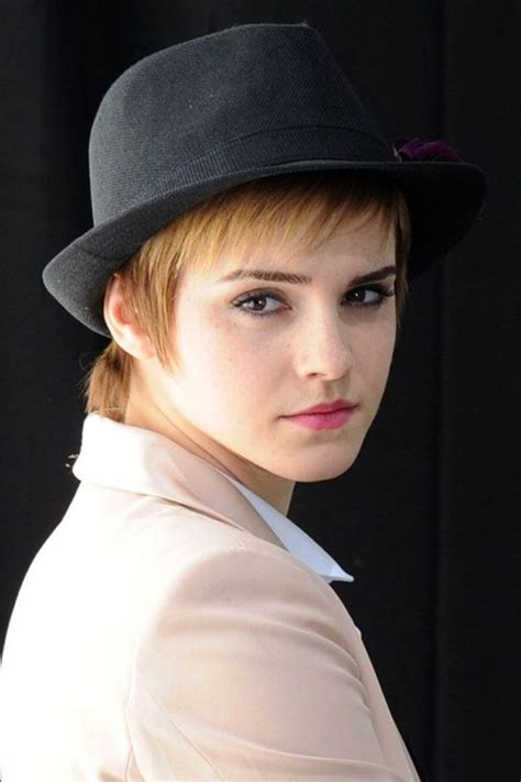 short hair styles with ball caps fedora and short hair oui c est mon style pinterest