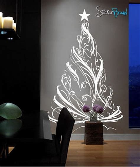 Custom Wall Decal Stickers Vinyl Wall Decal Sticker Christmas Tree Custom 12ft Tall