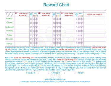 printable reward charts for 10 year olds free printable reward chart for ages 5 to 12 ages 5 to