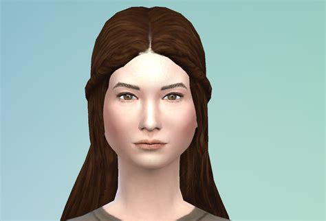 sims 4 longest hair my sims 4 blog the sims medieval long hair conversion by sage