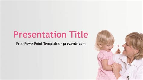 Free Pediatrician Powerpoint Template Prezentr Powerpoint Templates Pediatric Powerpoint Templates Free