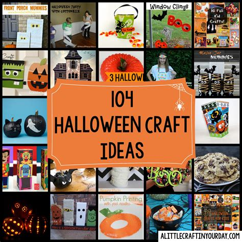 halloween day themes 104 halloween craft ideas a little craft in your day