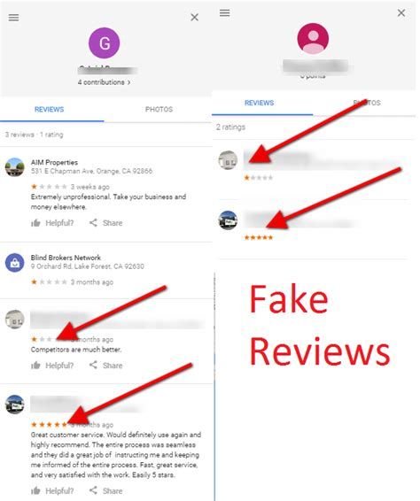 dear google  suggestions  fixing  massive problem  fake reviews search engine land
