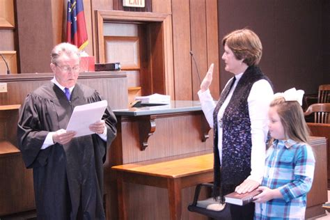 Polk County Clerk Of The Court Search Sworn In For Fifth Term This Morning As Clerk Of Superior Court Local