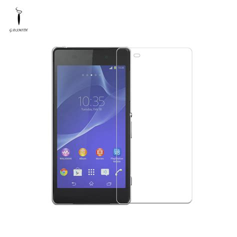 Tempered Glass Titan titan moz201b 0 3mm tempered glass for sony z2 transparent free shipping dealextreme