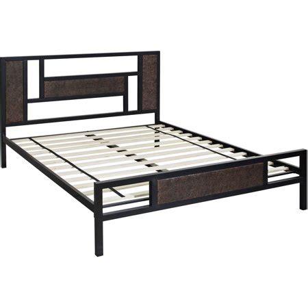 hyde park metal platform bed frame walmart