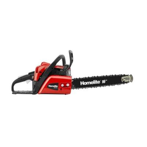 homelite 16 in 42 cc gas chainsaw ut10660a the home depot