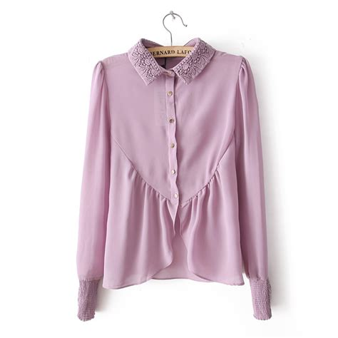 down blouses for 2013 video star travel international down blouses for 2018 new ladies shirt women chiffon blouse purple pink