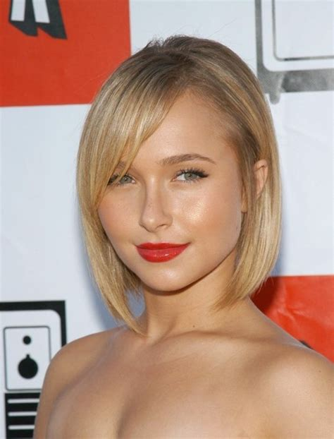 blonde bob red lips 1001 ideas for beautiful hairstyles for short hair