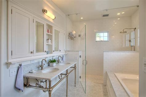 how to build a bathroom shower how to build a half wall shower bathroom traditional with