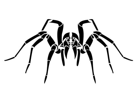 tattoo tribal spider tribal spider by kindlingtaco on deviantart