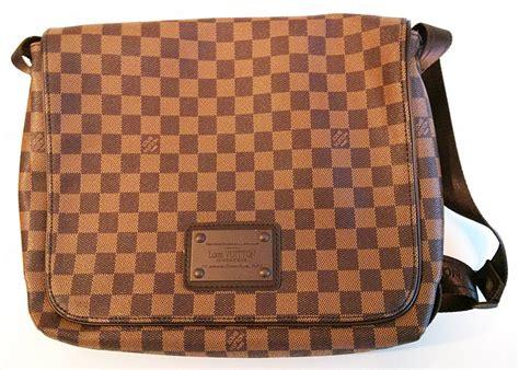 lv checkered pattern louis vuitton men s messenger bag inventeur