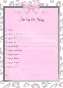 Wishes For Baby Printable Template by Free The Freebie Of The Week Wishes For Baby