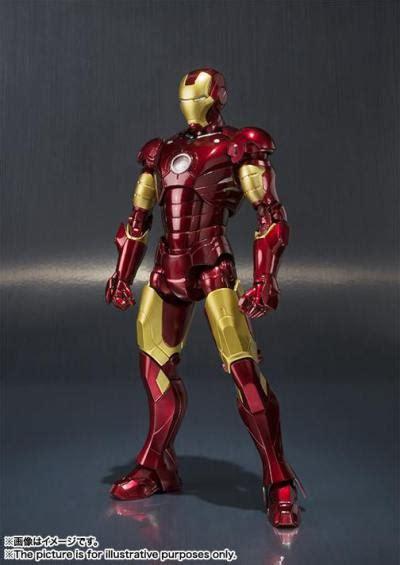 Bandai Shf Iron 2 6 Mk Vi toyzmag 187 sh figuarts la figurine iron mk 3 en