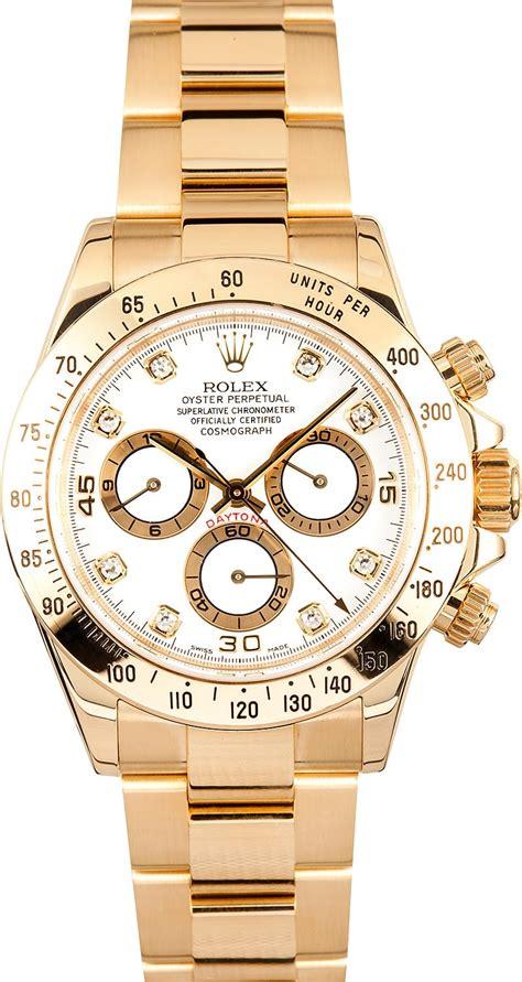 Rolex Daytona Gold rolex daytona chronograph ref 116528