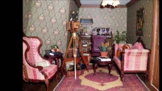 Pink Victorian Bedroom - victorian dollhouse part 2 youtube