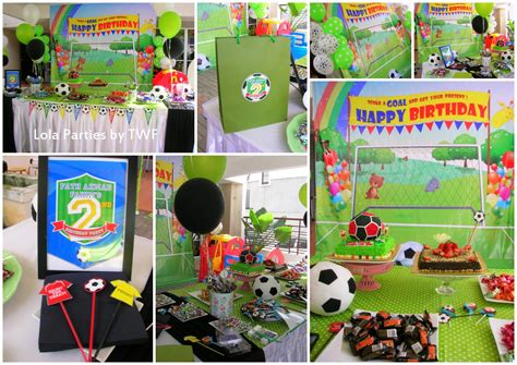 soccer themed birthday decorations the wedding fairies soccer theme birthday