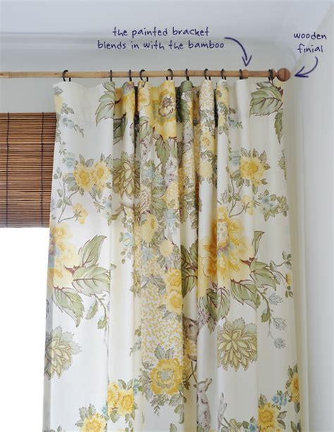 the bamboo curtain gardinen deko 187 bambus gardinenstange gardinen