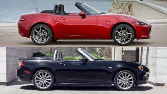 mazda mx 5 miata vs fiat 124 spider forum supercar