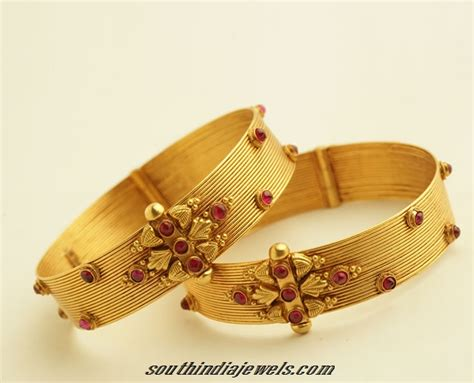 New Designs gold bangles design from png jewellers south india jewels