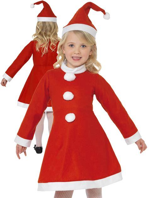 Dress Santa Kidos miss santa costume childs fancy dress