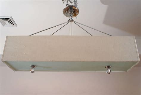 Rectangular Light Fixtures Rectangular Hanging Light Fixture At 1stdibs
