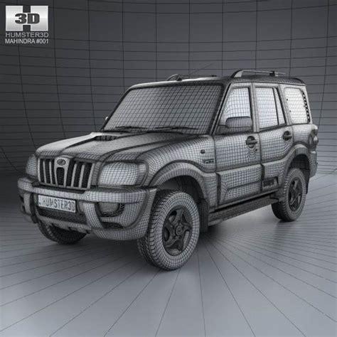 uing models of mahindra mahindra scorpio 2009 3d model hum3d
