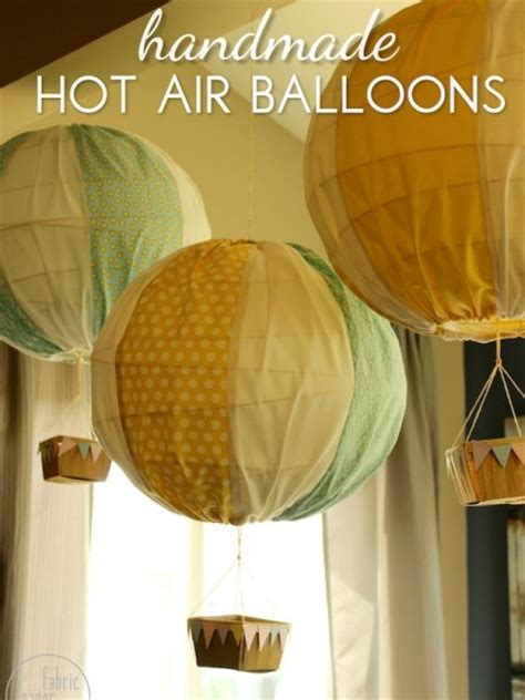 Handmade Air Balloon - 10 baby gifts you can sew blissfully domestic