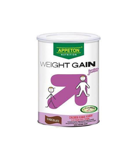Appeton Weight High appeton weight gain junior choco 450g pharmacy