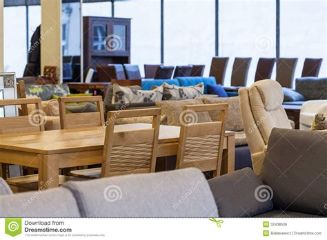 modern furniture store royalty free stock images image