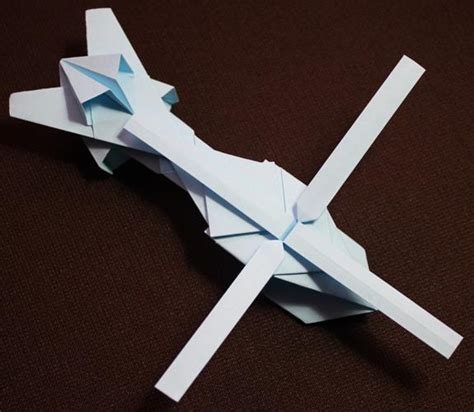 How To Make An Origami Helicopter - origami helicopter by kamitoyz on deviantart