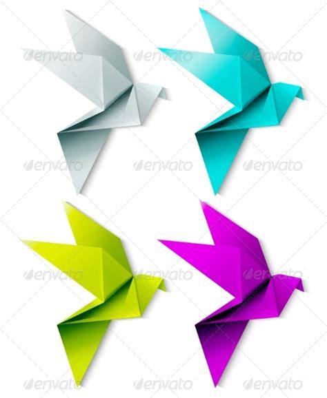 Simple Origami Bird - origami bird easy