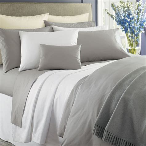 percale bed sheets white percale sheets sferra simply celeste sheets bedding