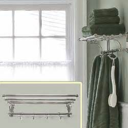 train style towel rack vintage bath at a budget price this old house