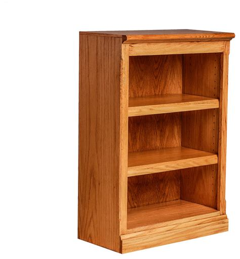 mission oak bookcase honey oak transitional bookcases