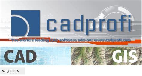 Cadprofi 11 In For All Cad cad gis cad gis architektura geodezja projektowanie kartografia informatyka