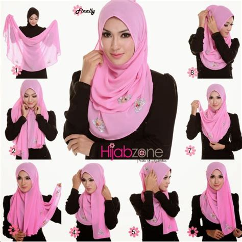 tutorial hijab on pinterest cara pakai hijab shawl with hijab tutorial hijab