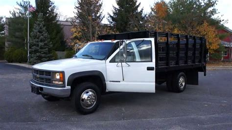 Rack Truck For Sale by 2000 Chevy 3500 4x4 Rack Truck For Sale Brand New 6 5l Turbo Diesel