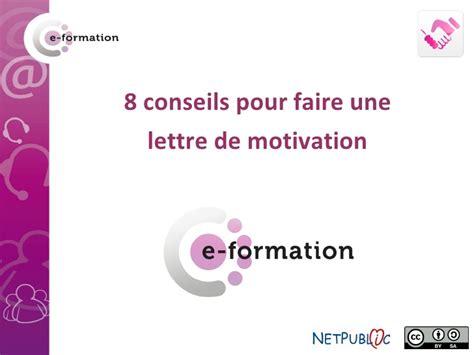 Conseils Pour Une Lettre De Motivation 8 Conseils Pour Une Lettre De Motivation