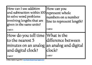 common math essential questions for 2nd grade 2nd grades essential questions and common