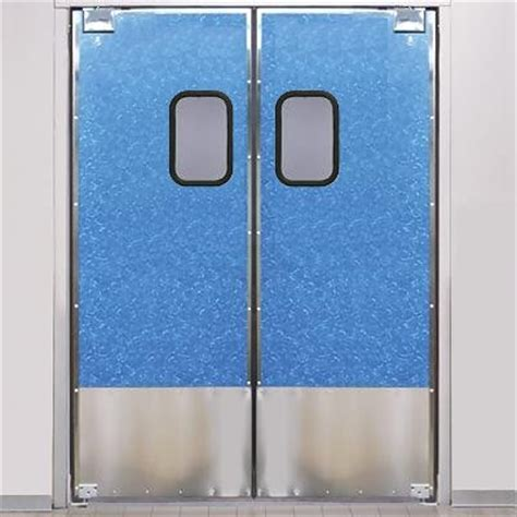 restaurant kitchen swing doors eliason scp 8 48dbl dr 48 quot double door opening easy