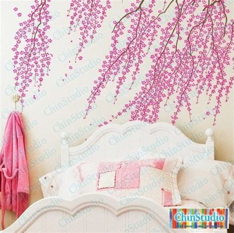 Cherry Blossom Tree Wall Sticker girls room flower wall wall decal wall stickers accent wall