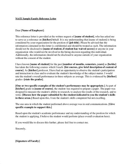 Reference Letter Research nanny letter of recommendation letter of recommendation