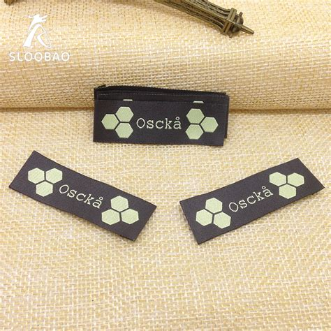 free shipping customized garment tags clothing labels
