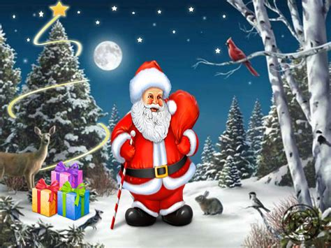 santa claus with tree images 25 excellent pictures of santa claus picsoi
