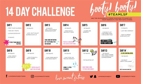 get a new challenge 14 day builder challenge sweat fitness