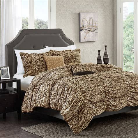 full size coverlet best leopard print bedding full size 19 on boho duvet